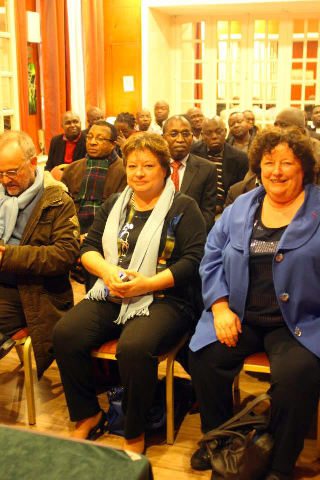 1er mars 2014 - Le Club International Négritude reçoit Brigitte Fouré
